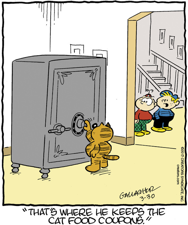 Heathcliff for Mar 30, 2017