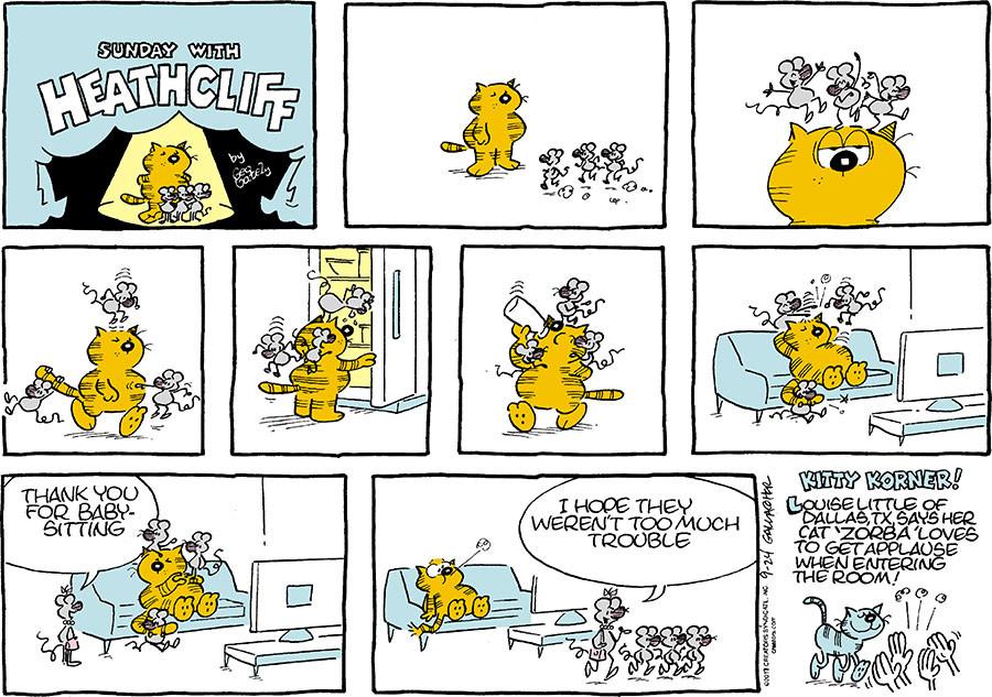 Heathcliff for Sep 24, 2017