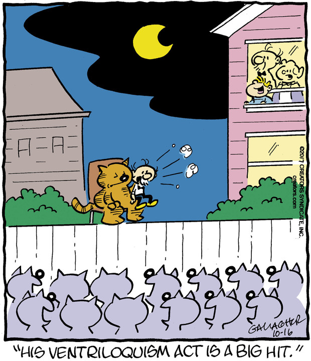 Heathcliff for Oct 16, 2017