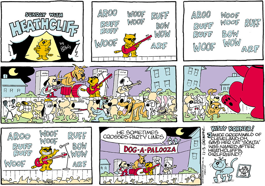 Heathcliff for Dec 03, 2017