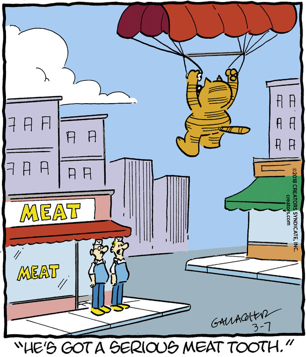 Heathcliff for Mar 07, 2018