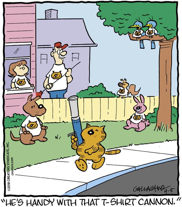 Heathcliff for Apr 05, 2018