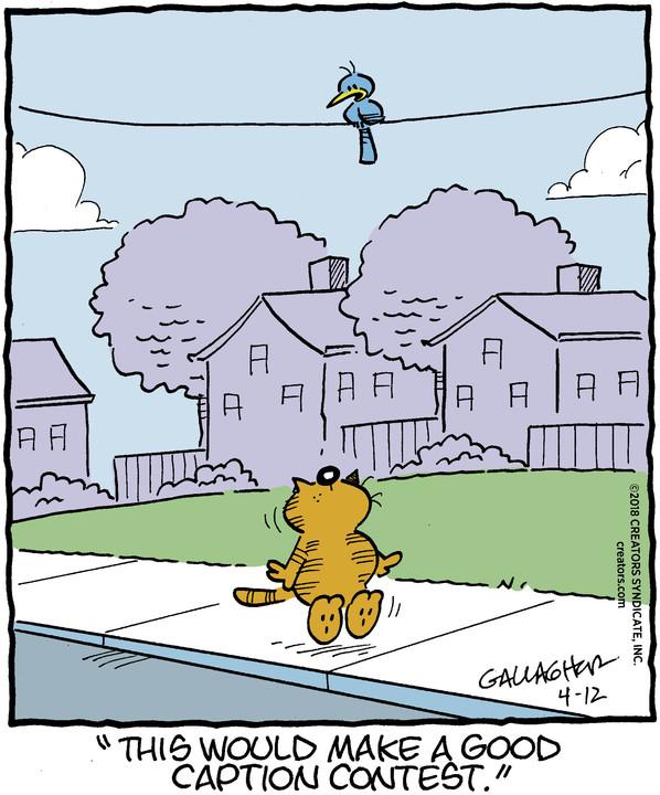 Heathcliff for Apr 12, 2018