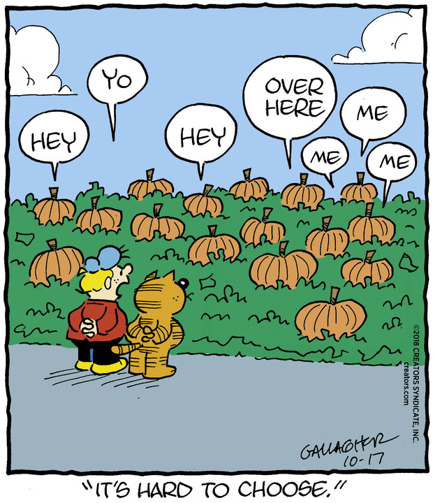Heathcliff for Oct 17, 2018