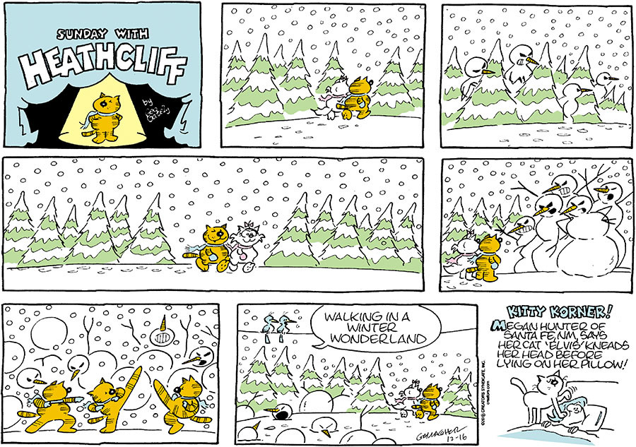 Heathcliff for Dec 16, 2018