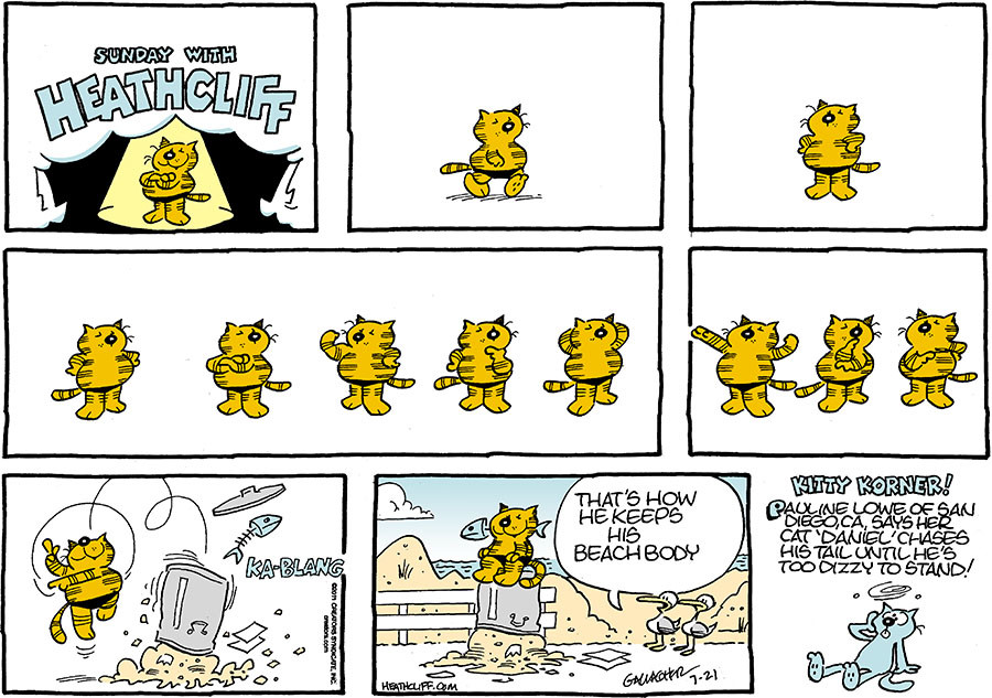 Heathcliff for Jul 21, 2019