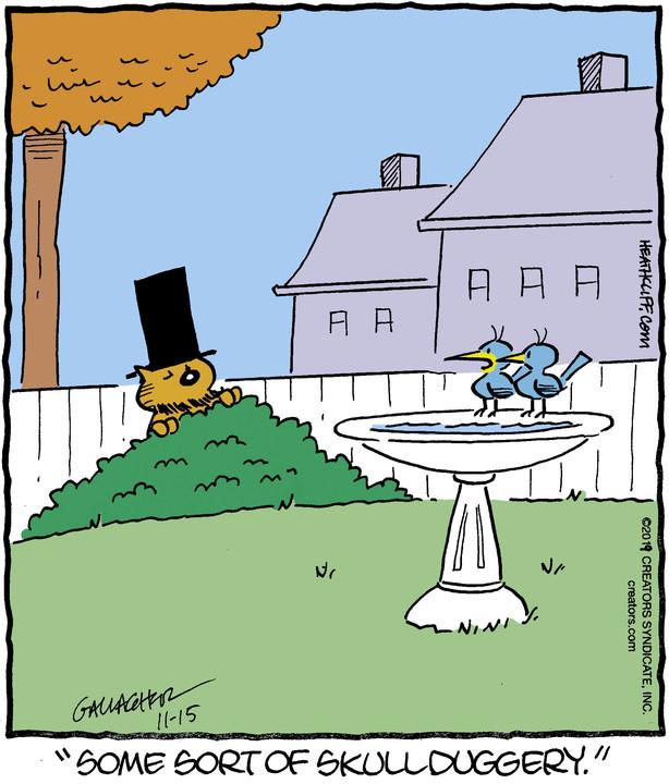 Heathcliff for Nov 15, 2019