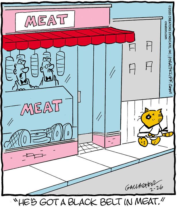 Heathcliff for Feb 26, 2020