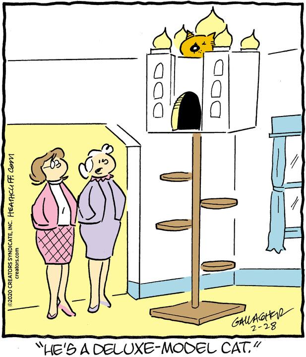 Heathcliff for Feb 28, 2020