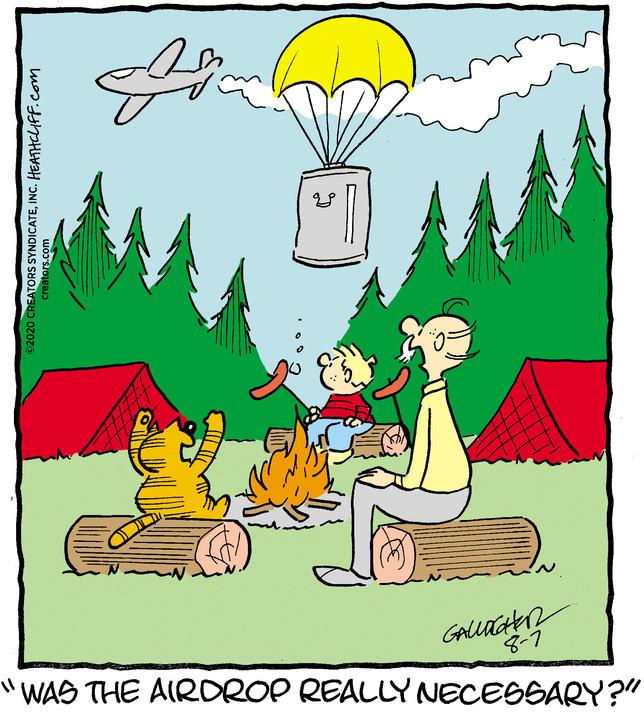 Heathcliff for Aug 07, 2020