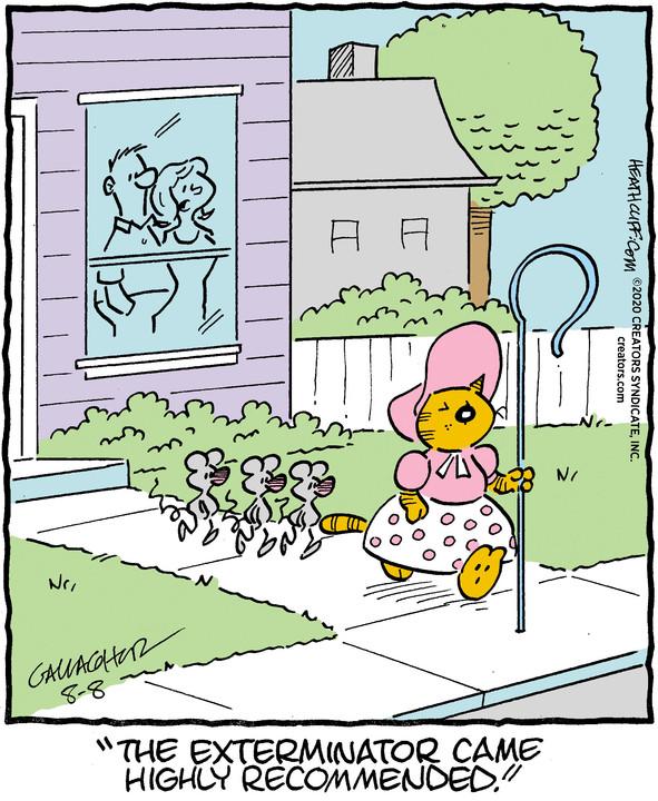 Heathcliff for Aug 08, 2020