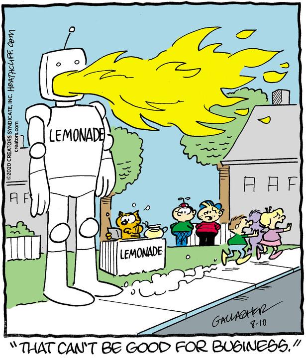 Heathcliff for Aug 10, 2020