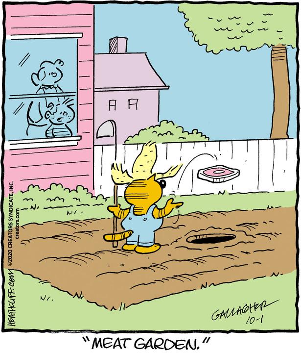 Heathcliff for Oct 01, 2020