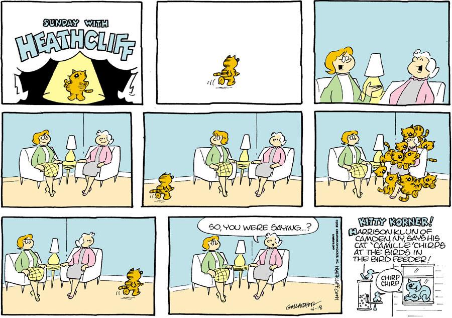 Heathcliff for Apr 18, 2021