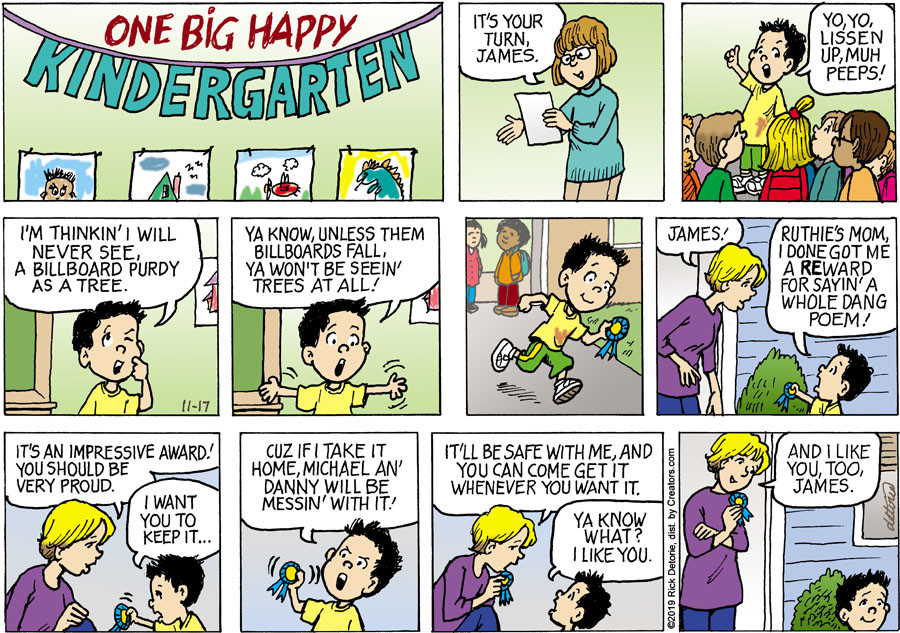 One Big Happy® for Nov 17, 2019
