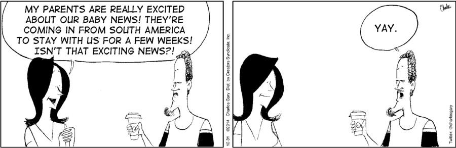 Cafe con Leche for Oct 31, 2014
