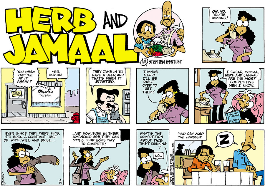 Herb and Jamaal for Mar 19, 2017