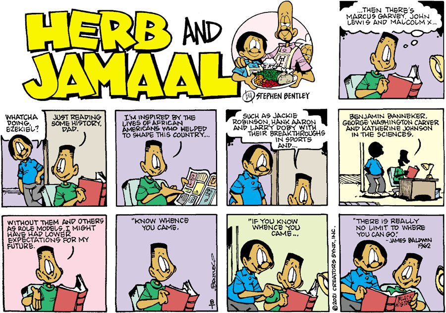 Herb and Jamaal for Aug 01, 2021