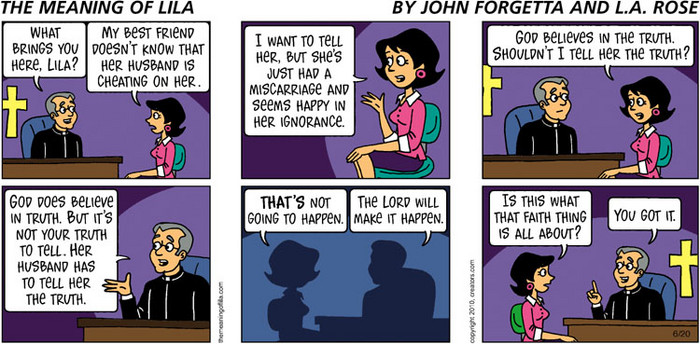 The Meaning of Lila for Jun 20, 2010, by John Forgetta | Creators