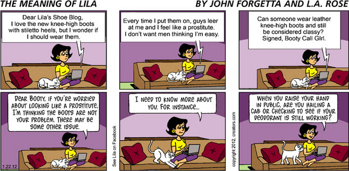 The Meaning of Lila for Jan 22, 2012, by John Forgetta | Creators