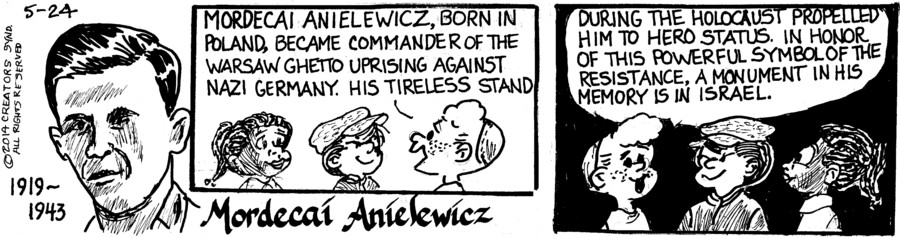 Wee Pals for May 24, 2014