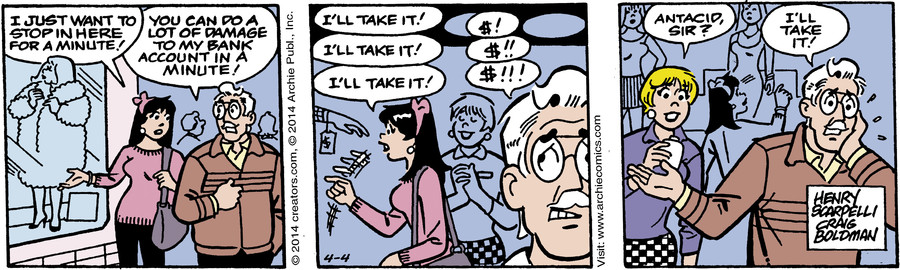 Archie for Apr 04, 2014