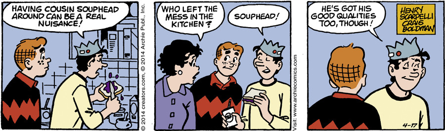 Archie for Apr 17, 2014