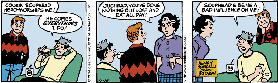 Archie for Apr 18, 2014