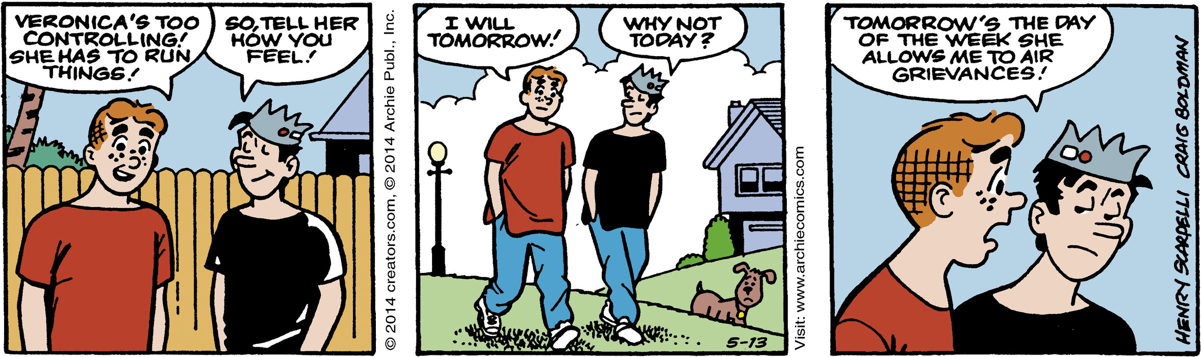 Archie for May 13, 2014