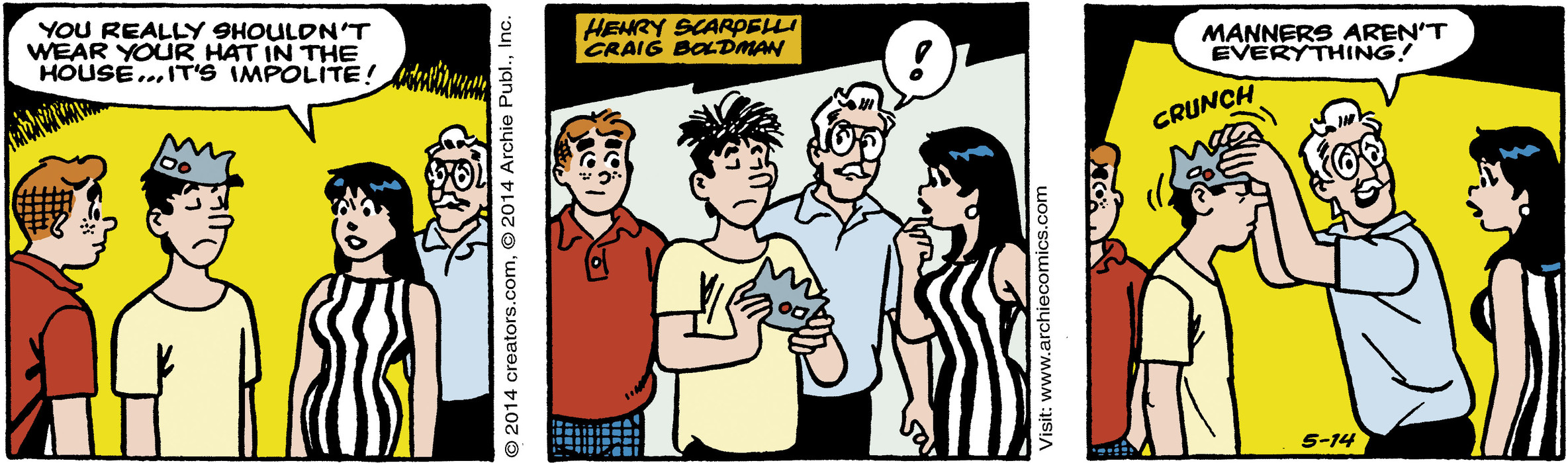 Archie for May 14, 2014