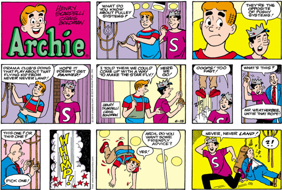 Archie for Jun 15, 2014