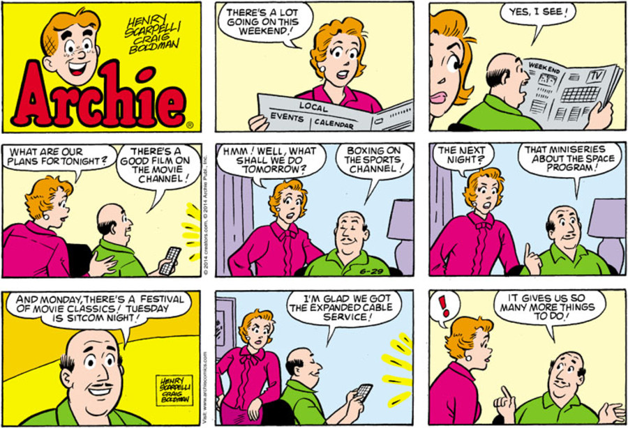 Archie for Jun 29, 2014