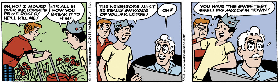 Archie for Jul 09, 2014