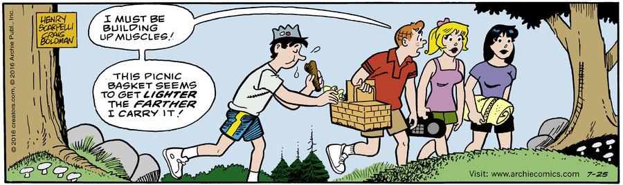 Archie for Jul 25, 2016