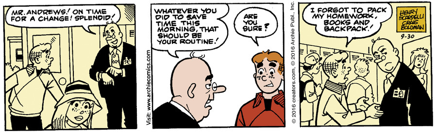 Archie for Sep 30, 2016