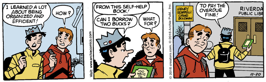 Archie for Oct 20, 2016