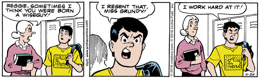 Archie for Nov 28, 2016
