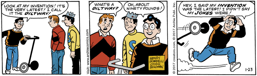 Archie for Jan 23, 2017