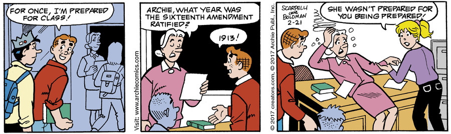 Archie for Feb 21, 2017