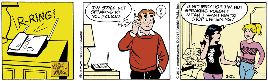 Archie for Feb 22, 2017