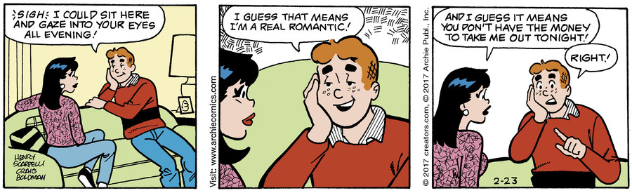 Archie for Feb 23, 2017