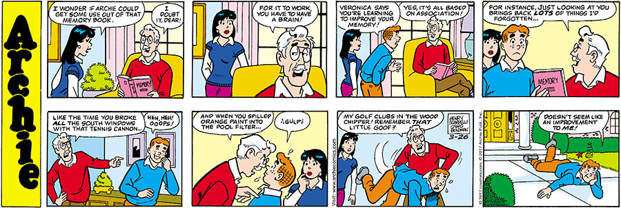 Archie for Mar 26, 2017