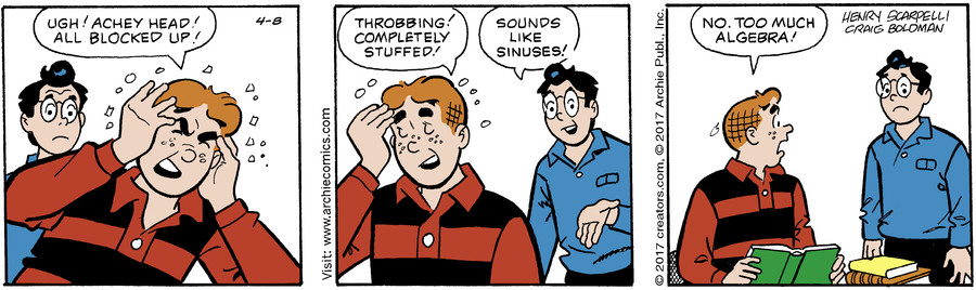 Archie for Apr 08, 2017