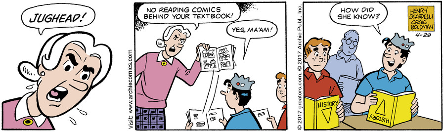 Archie for Apr 29, 2017