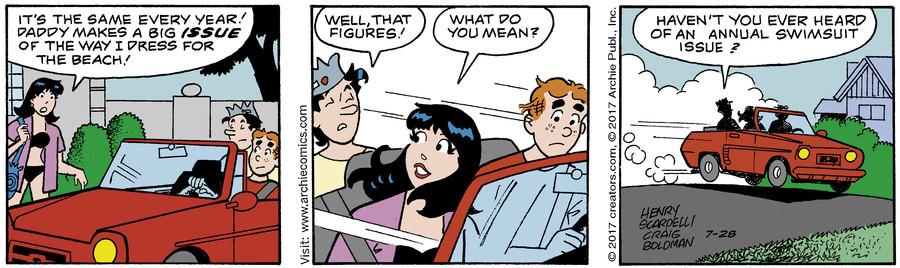 Archie for Jul 28, 2017