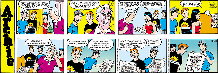 Archie for Aug 13, 2017