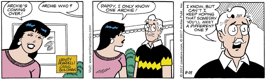 Archie for Aug 29, 2017
