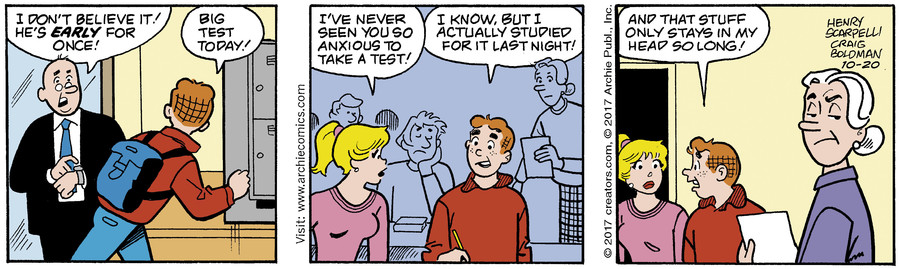 Archie for Oct 20, 2017