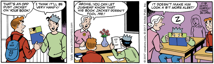 Archie for Nov 15, 2017