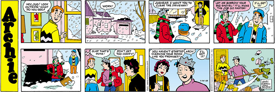 Archie for Jan 14, 2018
